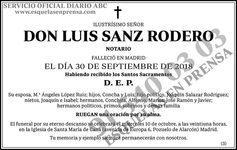 Luis Sanz Rodero
